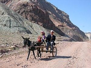 Close to Karakoram Highway in Xinjiang