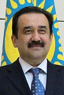 Karim Massimov Former Prime Minister of Kazakhstan