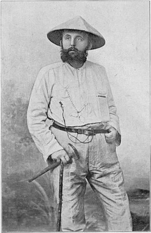 Karl Martin - Karl Martin during the Moluccas expedition of 1892