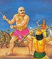 Karna Try To Kill Ghatotkacha.jpg