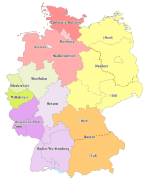 NOFV-Oberliga Süd - The fourteen Oberligas in Germany