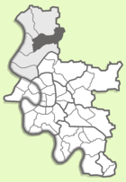 Location in the city area