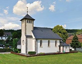 Marsberg - The Catholic church of Helminghausen, in southwestern Marsberg.