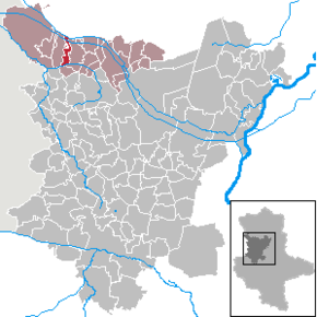 Location of Kathendorf within the Börde district