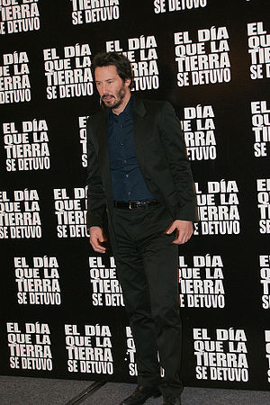 Actor Keanu Reeves in Mexico on promotion &quo...