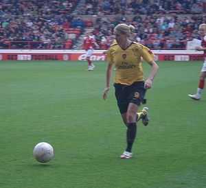 Kelly Smith - Smith in the 2007 FA Women's Cup final