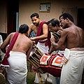 Kerala - Hindu Temple Drummers (15969407762).jpg