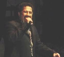 Khaled under en konsert i New York 2002.