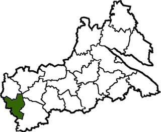 Khrystynivka Raion Former subdivision of Cherkasy Oblast, Ukraine