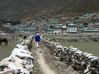 Khumjung - Image: Khumjung