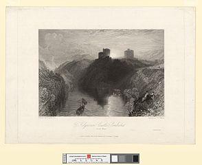 Kilgarren Castle, Pembroke, south Wales
