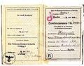 Kinderausweis J William Kaczynski 1939.jpg