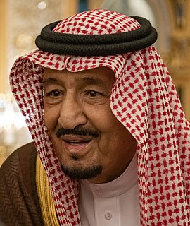 Salman of Saudi Arabia King of Saudi Arabia