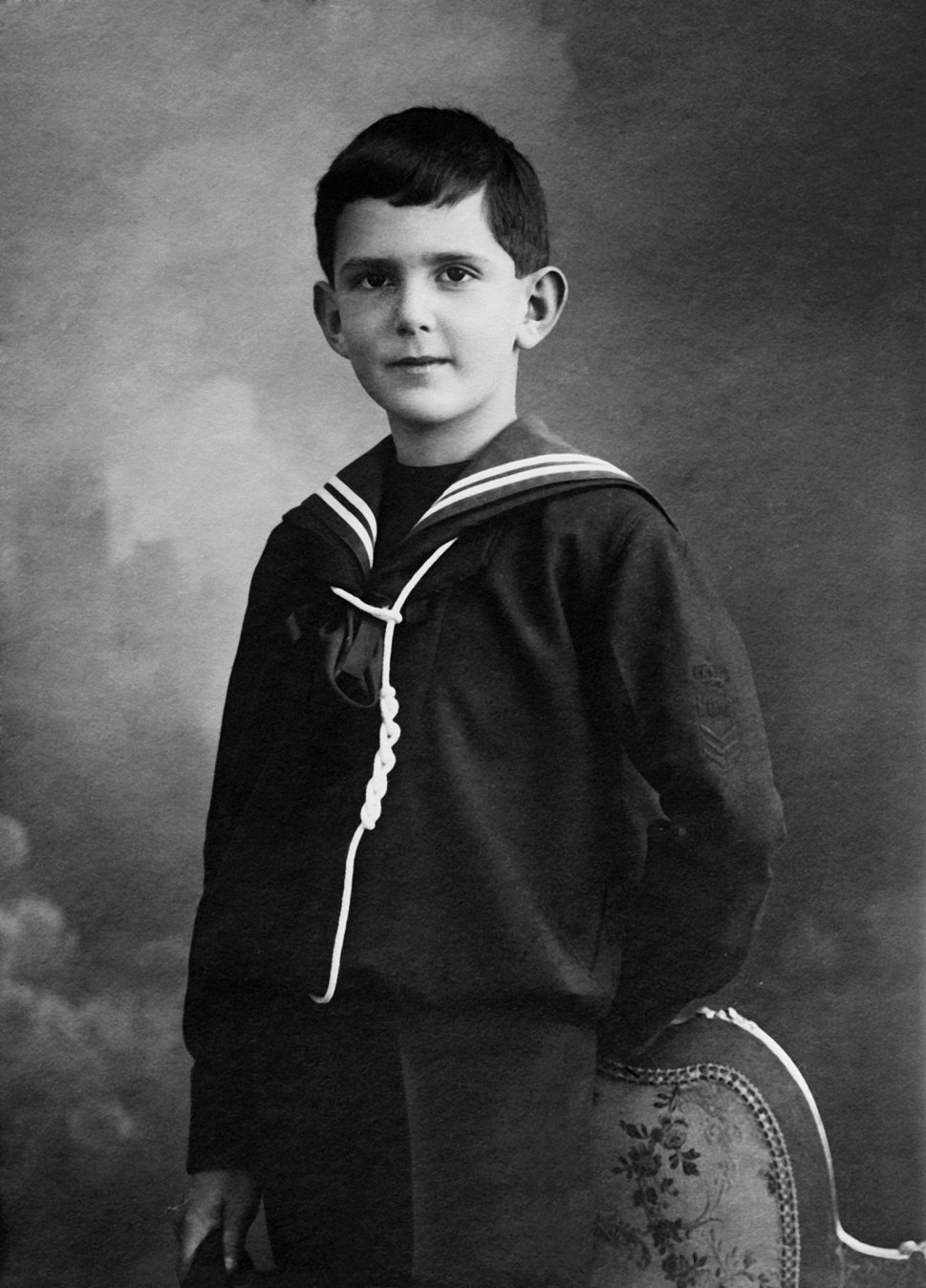 King Umberto II of Italy as a child