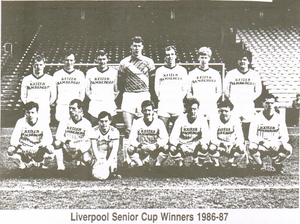Knowsley United F.C. - Kirkby Town team pictured in 1987