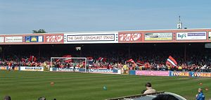 Kit Kat Crescent is the home ground of York City F.C.
