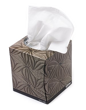 Facial tissue - A box of tissues