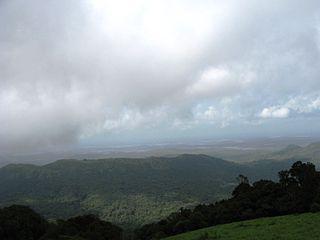 Kodachadri mountain in India