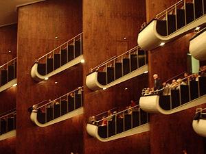 Cologne Opera - Interior of the Cologne Opera (2005)