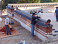 Korea-Naksansa 2190-07 wall reconstruction.JPG