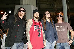 Korn på MTV Asia Awards 2006