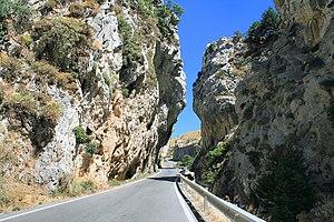 Kotsifos Gorge - In the Kotsifos Gorge
