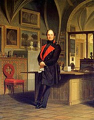 Frederick William IV in his Study