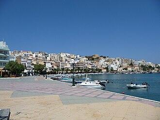 Sitia - Image: Kreta sitia hafen