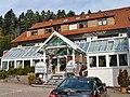 Krippena (Holz- und Krippe-Figuren Ausstellung von Schnitzer Theo Gütermann) und Hotel am Hirschpark, Enzklösterle - panoramio.jpg