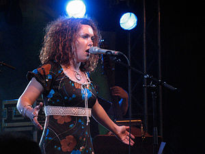 2004 in Norwegian music - Kristin Asbjørnsen at the Moers Festival.