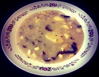 West Slavic fermented cereal soups - Image: Krkonošské kyselo