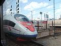 Kryukovo station, Sapsan high-speed train (4669337833).jpg