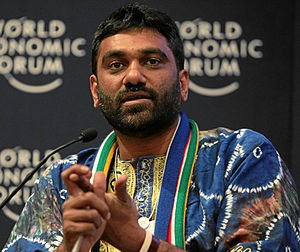 Kumi Naidoo - Kumi Naidoo at the World Economic Forum annual meeting in 2011