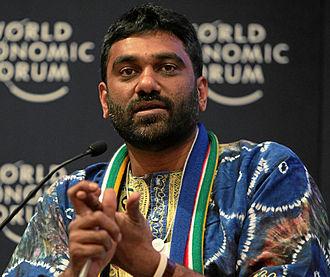 Kumi Naidoo - Kumi Naidoo at the World Economic Forum annual meeting in 2011