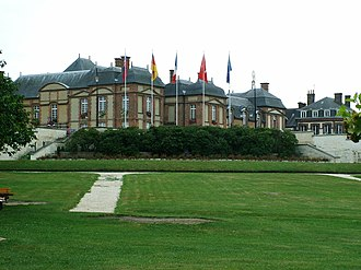 L'Aigle - The chateau in L'Aigle