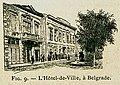 L'Hôtel-de-Ville, à Belgrade - Beauregard J - 1896.jpg