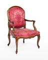 Länstol, 1700-talets mitt - Hallwylska museet - 110070.tif