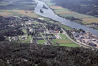 Lödöse Place in Västergötland, Sweden