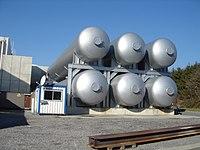 Tanques de helio