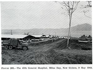 Loma Linda University - LLU's 47 General Hospital, Milne Bay