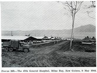 Loma Linda University - LLU's 47 General Hospital, Milne Bay