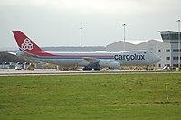 LX-VCB - B748 - Cargolux