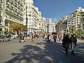 La Plaza del Ayuntamiento de Valencia un domingo (23919394741).jpg