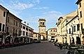 La torre civica di Porta Vecchia da via Giacomo matteotti.jpg