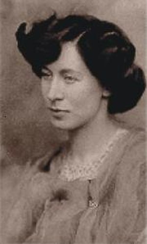 Olive Custance - Olive Custance in 1902