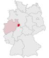 Lage des Kreises Höxter in Deutschland.PNG