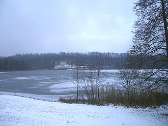 Alice Superiore - Image: Lago Alice Valchiusella Inverno