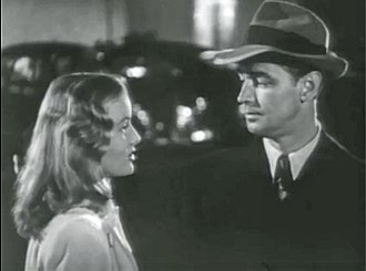 Veronica Lake - Lake and Alan Ladd in trailer for The Blue Dahlia (1946)