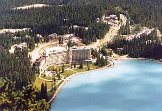 Lake Louise, Alberta - Château Lake Louise