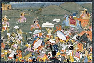 Indrajit - Lakshamana Fights Indrajit